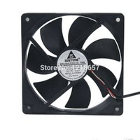Wholesale Usb Dc Fan - Wholesale- 2PCS LOT Gdstime DC 5V USB 120mm 120*120x25mm 12025S Cooler Motor Brushless Cooling Fan