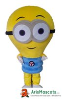 costume carnaval partido roupa venda por atacado-100% real fotos engraçado Yellow Lamp traje da mascote roupa personalizado personagem de publicidade mascotes trajes de fantasias crianças carnaval vestido de festa