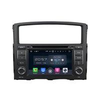 Wholesale Dvd Car Mitsubishi Pajero - 7'' Android 6.0 Car DVD Stereo Radio GPS Player For Mitsubishi Pajero 2006-2012 With Map Rearview Camera