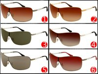 Wholesale sports quality sunglasses for men for sale - Group buy 2017 Metal Frame Sunglasses for Men and Women Outdoor Sport Driving Sun Glasses Brand Designer Sunglasses quality Factory Price colors