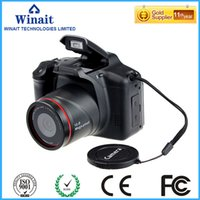 Wholesale Video Card Standards - Wholesale-HD720p SLR Similar Digital Video Camea with 2.8'' TFT Display and 4x Digital Zoom Free Shipping