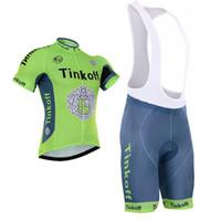 Wholesale Team Saxo Bib - Tour De France 2017 Tinkoff Saxo Bank cycling jersey bib None Bib shorts cycling team jersey high quality Road Cycling Jersey Size XS-4XL