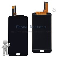 Atacado - LCD completo DIsplay + Touch Screen Digitizer Assembly Substituição para Meizu M2 Nota M571H M571M M571C M571U / Meilan Nota 2; Preto