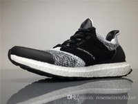 Wholesale Brown Social - New Ultra Boost 3.0 Sneakersnstuff x Social Status Primeknit Shoes, Real Boost 350 V2 Black Red UB Zebra Cream White Sports Shoes