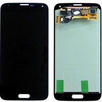 precios para samsung s5 al por mayor-Para Samsung Galaxy S5 i9600 G900 Nueva Alta Copia A + LCD con pantalla táctil Digitalizador Asamblea precio competitivo