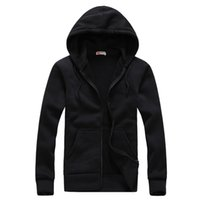 Wholesale Comfortable Men S Hoodies - Wholesale- New Hot 2016 men's Spring Autumn Period mens hoodies Solid color fashion trend leisure all-match comfortable Casual coat S-XXL