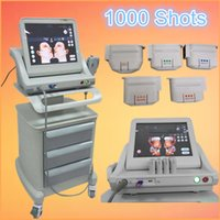 Wholesale Ultrasound Beauty Machines - FDA standard portable hifu machine high intensity focused ultrasound face lift skin lifting wrinkle removal beauty system