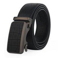 Wholesale Cheap Belts Work - 2017 New Cheap Automatic Buckle Men Belts For Work