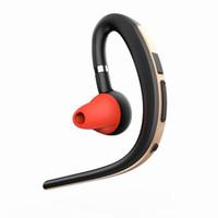 nuevo tipo de auriculares al por mayor-Nueva Llegada Tipo de Negocio Auriculares Bluetooth CS8610 V4.0 Chip Cómodo 2in1 Auriculares CVC Reducción de Ruido Control de Sonido Respuesta Earphobes
