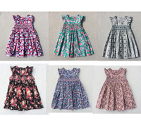 Wholesale Summer Dresses For Kids Sale - Hot Sale Children Dresses 2017 New Summer Lovely Baby Girls Dresses Casual Party Dresses Bohemian Princess For 3-7 Years Kids Dress
