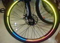 Wholesale Hot Wheels Stickers Bikes - Good motorcycle bike car bicycle hot wheels reflective stickers wheel rims reflective stickers 500pcs