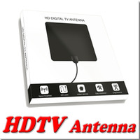Wholesale HDTV Antenna for TV P Miles Indoor Digital HDTV Antenna Easy Installation Antenna for TV P High Reception MOQ