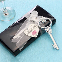 Wholesale key heart wedding favors resale online - Beer Bottle Openers Tool Key to My Heart Vintage Key Bottle Opener Wedding Favors and Gift Wedding Supplies Kitchen Dining Bar