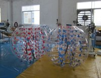 Wholesale Bubble Toys For Children - Dia 1.2m Inflatable Bubble Soccer Football Ball for Children Loopy Zorb Ball Human Hamster Ball Bumper Football For Kids