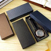 Wholesale New Fashion Presentation Gift Wristwatch Boxes Colors Square Watch Boxes Cases Jewelry Display Box watch Box