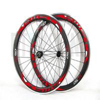 Wholesale Toray Carbon Rims - AWST Toray 700C Clincher Carbon Bicycle Wheelset Alloy 50mm Carbon Wheel Rim Alloy Basalt Brake Surface Road Bike Bicycle Wheelset hot sell