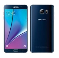 Wholesale Galaxy Band - 2016 Hot sell Original Unlocked Samsung Galaxy Note 5 N920P Octa Core 4GB RAM 32GBROM LTE 16.0MP 5.7 Dual-band refurbished Mobile Phone