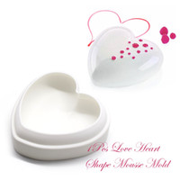 Wholesale Silicone Heart Soap Mold - Food Grade Silicone 3D Love Heart Cake Pan Mold Cake Decorating Tool Baking Supplies DIY Mousse Chocolate Handmade Soap 11
