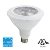 Led Energy Star online - PAR38 LED Bulb 18W (100W equivalent) 1210lm 4100K Bright White CRI 80+ Flood Light Medium Base (E26) Dimmable Energy Star