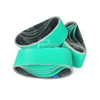 Wholesale grinding belts - 6 pieces 75*457mm Zirconia Alumina 577F 40# 60# 80# Sanding Belt for Hard Metal Grinding