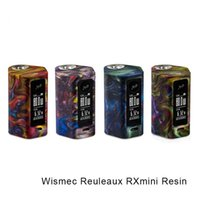 Wholesale Texture Resin - Wismec Reuleaux RXmini Resin Mod 80W with 2100mAh Built-in Battery resin texture of light weight Battery Mod 100% Original vs Wismes RXmini