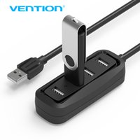 Vention Porta USB OTG HUB Splitter ad alta velocità 4 porte USB 2.0 per Apple Macbook Air Tablet PC Bac