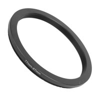 Wholesale 77mm adapter resale online - CES mm mm mm to mm Step Down Ring Adapter Black for DSLR Camera