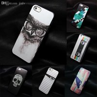 Wholesale Iphone5 Case 1pc - Wholesale-1PC Beautiful Rainbow In Lamp Retro Style Hard Back Cover Case For Iphone 5 5s High quality luxury caso for iPhone5 5s