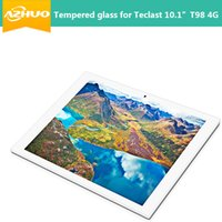 "Wholesale Tablet Buy - Wholesale-High quality Tempered Glass Screen Protector For Teclast newest 10.1inch T98 4G tablet pc (NOT for 9.7"", buy for 10.1"" T98 4g)"