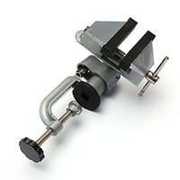 Wholesale Bench Tools - Professional 360 Degree Vises Bench Swivel Vise With Clamp 3 inch Tabletop Vise
