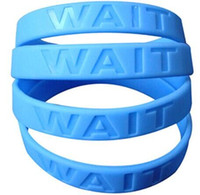 Wholesale Silicone Bracelets For Letters - Logo debossed High quality custom silicone wristband with your writing or logo. Custom silicone bracelet for advertising gift SWD001