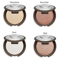 Wholesale Natural Opals - Dropshipping 2017 Newest Becca Shimmering Skin Perfector Pressed Bronzers Highlighters-Moonstone Opal Rose Gold  Champagne Pop