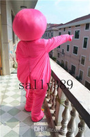 Wholesale Barney Dinosaur Dress - new Barney Brand Cartoon Mascot Costume Purple dinosaur Adult Size party Adult fancy dress carnival parade free shipping