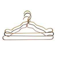 Wholesale Wholesale Adult Pants - Aluminum hanger adult bedroom anti - skid clothes hangers multi - function clothes hangers Three colors can be selected clothes racks