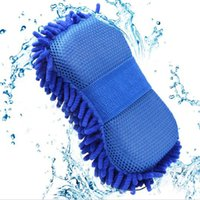 Vente en gros- Car Cleaning Esponge Styling Eponge Microfiber Washer Serviette Duster Pour Nettoyage Lavage Brosses