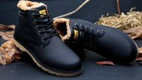 Wholesale Winter Essentials - SURGUT Brand Hot Newest Keep Warm Men Winter Boots High Quality pu Leather Casual Boots Working Fahsion Boots Essential Shoes size 39-44
