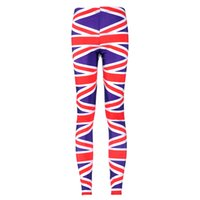 Wholesale Union Jacks Pants - NEW Arrival 3027 Sexy Girl Women Union jack American England Flag Prints Running Elastic GYM Fitness Sport Leggings Yoga Pants