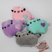 "Wholesale Wholesale Cat Stuffed Animals - Kawaii Pusheen Cat Plush Doll Stuffed Animals Toy For Child Best Gifts (4pcs Lot  Size: 4"" 10cm )"