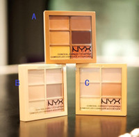 Wholesale Cheap Shipping Beauty - 6 Colors NYX Concealer Makeup Conceal Correct Contour Palette Brand Face Beauty Cosmetic Cheap Price On Sale Free Shipping