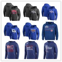 Wholesale Royal Blue Baseball Uniforms - 2016 World Series Champions Chicago Cubs Baseball hoodies jerseys Uniforms Pullover Sweatshirts Royal blue black grey drop shipping