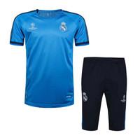Wholesale Stylish Men S Clothing - The latest best sportswear, real Madrid short - sleeved shirts, football clothes, stylish jerseys, running football jerseys, wholesale free