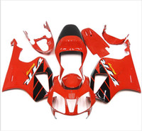 Wholesale Rc51 Sp2 - 3 free gifts Fairings For Honda VTR1000 RC51 SP1 SP2 00 01 02 03 04 05 06 ABS Motorcycle Fairing Kit Bodywork Red Black AZ2