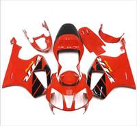 carenados honda sp2 al por mayor-3 regalos gratis Carenados para Honda VTR1000 RC51 SP1 SP2 00 01 02 03 04 05 06 ABS Kit de carenado de motocicleta Carrocería Rojo Negro AZ2