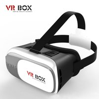 All'ingrosso- Professional VR BOX ii 2 Vetri 3D VRBOX Versione aggiornata Virtual Reality 3D Video Glasses Supporto Android IOS PC