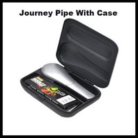 Wholesale Twilight Wholesale - High Quality Metal Pipes Journey Pipe in Twilight Silver Kit with GIFT Case 120pcs free OEM VS Toppuff water Pipe