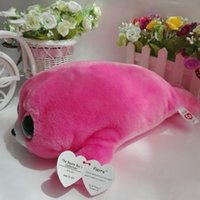 "Wholesale Valentine Sealed - Wholesale- Pierre seal pink seal TY BEANIE BOOS 25CM 10"" BIG EYE Plush Toys Stuffed animals KIDS TOYS VALENTINE GIFT Children toy"