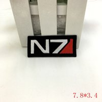 "Wholesale military logos - MASS EFFECT ""N7"" Systems Alliance Military Logo Patch"