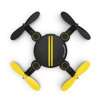 contrôle radio par hélicoptère 4ch achat en gros de-2.4G Mini RC Drone 4CH 6-Axis Gyro Altitude Hold Haute LED UFO RC Quadcopter Drone RTF Télécommande Radio Hélicoptère Quadcopter Jouets