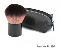 Wholesale Best Leather Products - FREE SHIPPING HOT good quality Lowest Best-Selling good sale MAKEUP NewEST Products 182 powder blush Brush With Leather Bag & GIFT