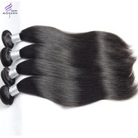Wholesale Malaysian Star - Top Star Modern Show Mink Malaysian Virgin Hair Straight Human Hair Weave Natural Black 1b Can be Dyed and Bleached All Color